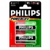 Батарейка Philips LR14 Powerlife alkaline