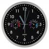 Часы настенные с термометр, гигрометром 581603