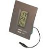 Часы-термометр вн/внутр, мин/макс.,часы14500