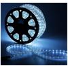 LED шнур  13 мм, круглый, 100 м, фиксинг, 2W-LED/м-36-220V. в компл. набор д/подкл. Белый 461025