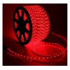 LED шнур 13 мм, круглый, 100 м, фиксинг, 2W-LED/м-36-220V. в компл. набор д/подкл. Красный 461027