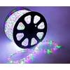 LED шнур 13 мм, круглый, 100 м, чейзинг, 3W-LED/м-36-220V. в компл. набор д/подкл. RGB 461036