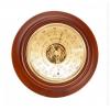 Барометр - термометр БТК-СН-24 Шлифованное золото