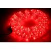 LED шнур  13 мм, круглый, 10 м, чейзинг, LED/м-24-220V, с контролл. 8р, красный 677996