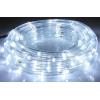 LED шнур  13 мм, круглый, 20 м, чейзинг, LED/м-24-220V, с контролл. 8р, белый 677999