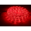 LED шнур  13 мм, круглый, 20 м, чейзинг, LED/м-24-220V, с контролл. 8р, красный 678001
