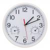 Часы настенные термометр-гигрометр 19,5х19,5 581595