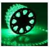 LED шнур  11 мм, круглый, 100 м, фиксинг, 2W-LED/м-24-220V, в компл. набор д/подкл. Зеленый 767710