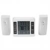 Термометр FT08  -40..+60,  с 2-мя радиодатчиками
