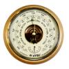 Барометр - термометр БТК-СН-8 Шлифованное золото