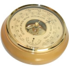 Барометр - термометр БТК-СН-16 Шлифованное золото