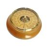 Барометр - термометр БТК-СН-17 Шлифованное золото