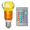 Лампа FR-2 3Вт, с пультом ДУ, светодиодная меняет цвет E27