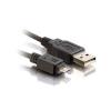 Шнур Orient MU-203 1 USB 2.0 папа – 1 USB microB 5pin папа 0,3м
