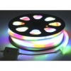 Гибкий неон, 12*24мм, 10 м, LED/м-80-220V, 7 цветов, МУЛЬТИ 678014