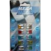 Предохранители флажковые MINI 5-30А Mega Electric