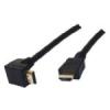 Шнур Orient R1565 1 HDMI папа – 1 HDMI папа (угловой разъем) 5,0м